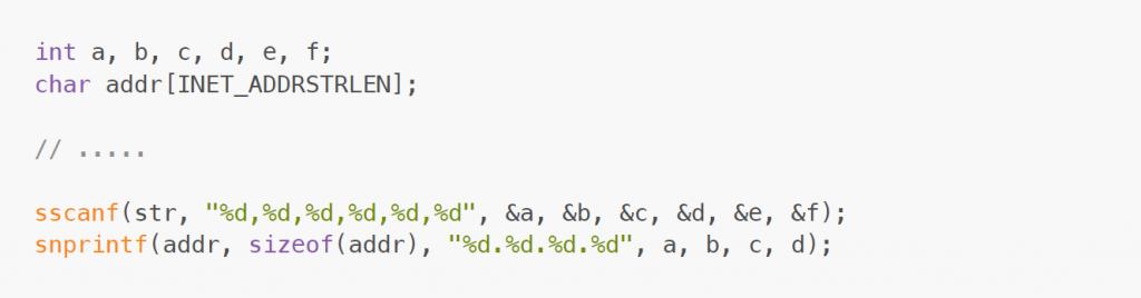 error bugfix